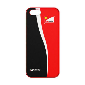 FERNANDO ALONSO F1 FORMULA SCUDERIA FERRARI TEAM iPhone 5 | 5S Case