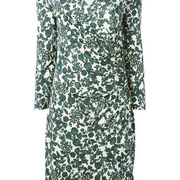 ICIKIN3 Tory Burch v-neck floral print dress