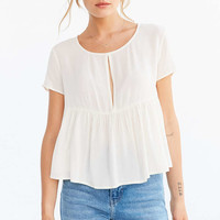 Kimchi Blue Melody Babydoll Tee - Urban Outfitters