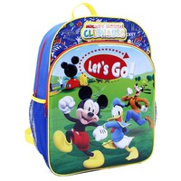Disney's Mickey Mouse Clubhouse Backpack - Kids (Blue/Yellow/Green)