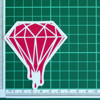 Bloody Diamond Sticker Decal
