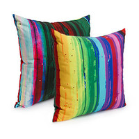 PixelGlitch Accent Pillow