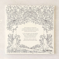Enchanted Forest: An Inky Quest & Coloring Book By Johanna Basford - Urban Outfitters