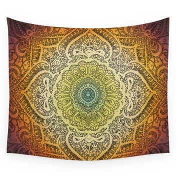 Society6 Bohemian Lace Wall Tapestry