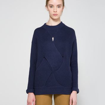 Farrow / Milo Sweater in Navy