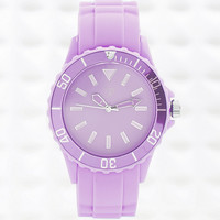 Colour Pop Watch in Lilac - Urban Outfitters
