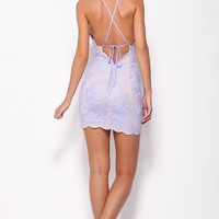 Bedroom Whispers Dress Lilac