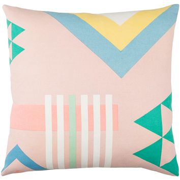 Lina Pillow Kit - Pale Pink, Emerald, Cream, Sky Blue, Butter, Mint - Poly - INA006