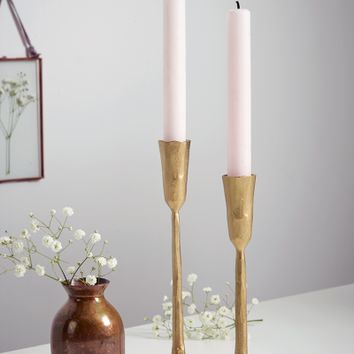Hema Hand Forged Candlesticks - Indoor Living