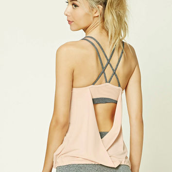 Active Twofer Sports Bra Top
