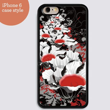 iphone 6 cover,Flowers black and red case iphone 6 plus,Feather IPhone 4,4s case,color IPhone 5s,vivid IPhone 5c,IPhone 5 case Waterproof 258