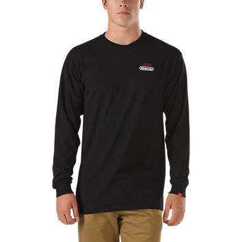 Nintendo Long Sleeve T-Shirt | Shop at Vans