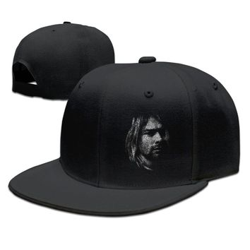 Nirvana Band Kurt Cobain Printed Unisex Adult Womens Baseball Cap Mens Hip-hop Hat