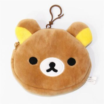 [PCMOS] 2017 New Japan Cartoon Cute Rilakkuma San-X Bear Mini Plush Coin Bag Wallet Pouch  Arcade Prizes 16072827