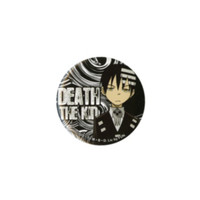 "Soul Eater Death The Kid 3"" Pin"