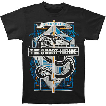 Ghost Inside Men's  Snake Crest (Import) T-shirt Black