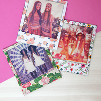 Polaprint Magnetic Polaroid Frame - Floral