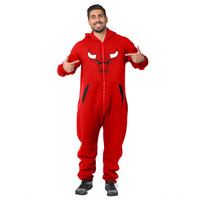 Chicago Bulls Adult One Piece KLEW Sport Suit Sizes XS-XL w/ Priority Shipping