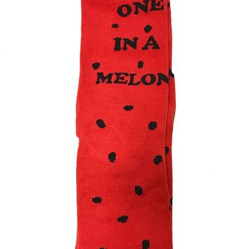 Once In A Melon Socks