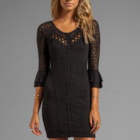 Free People City Girl Body Con Dress in Black from REVOLVEclothing.com