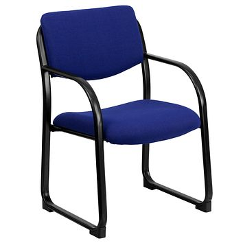 Fabric Executive Side Chair with Sled Base