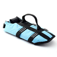 Funkeen Dog Life Jacket Aquatic Pet Safety Preserver Vest with Reflective tape for Small Medium Dogs