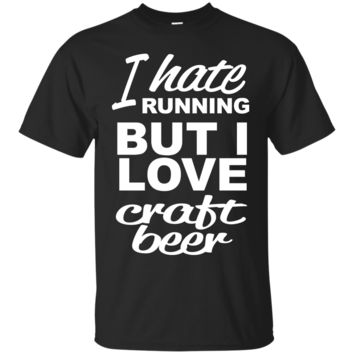 I Hate Running-Beer Classic T-Shirt