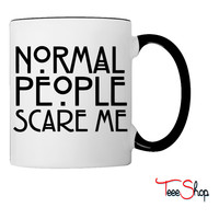 Normal People Scare Mesw Coffee & Tea Mug