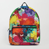 Peace & Freedom Backpack by Cindys