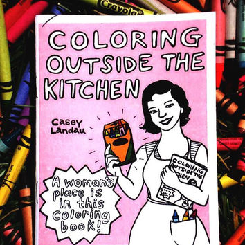 Coloring Outside the Kitchen -- Coloring Book