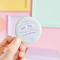 Sass the patriarchy pocket mirror