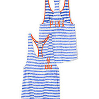 New York Mets High-Low Striped Tank - PINK - Victoria's Secret