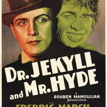 Dr. Jekyll and Mr. Hyde 11x17 Movie Poster (1931)