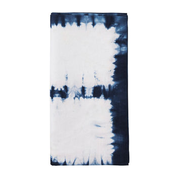 CONGO NAPKIN IN WHITE & BLUE S/4