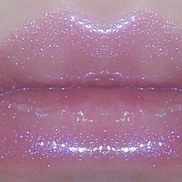 SHOOTING STAR Purple Sparkle Lip Gloss
