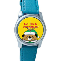 So This Is Christmas Wrist Watch