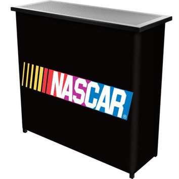 NASCAR 2 Shelf Portable Bar w- Case