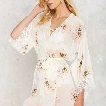In Your Dreams Floral Robe