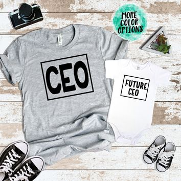 DAD CEO, Future CEO Matching Tops