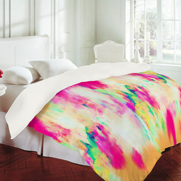 DENY Designs Home Accessories   Amy Sia Electric Haze Duvet Cover