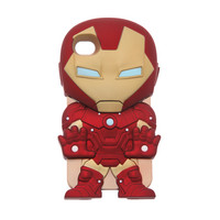 Marvel Chara-Covers Iron Man iPhone 4/4S Case | Hot Topic
