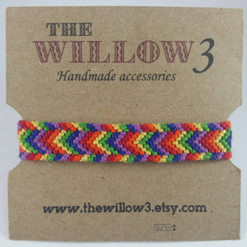 Rainbow color Pride Bracelet