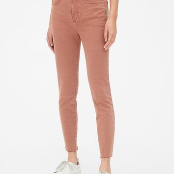 High Rise True Skinny Ankle Jeans in Color | Gap