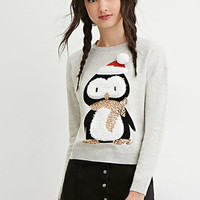 Penguin Graphic Sweater