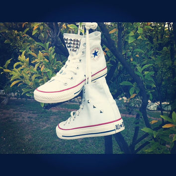 SALE!!! Studded Converse Shoes