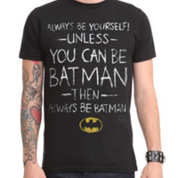 DC Comics Batman Be Yourself T-Shirt