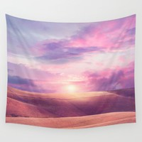 Pastel vibes 34 Wall Tapestry by Viviana Gonzalez