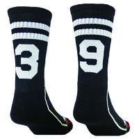 CUSTOM Number Socks Crew Socks - Lacrosse - Football - Pick your Numbers we will put them on the socks - Cool! Youth & Adult Sizes