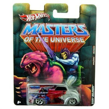 2011 HOT WHEELS MASTERS OF THE UNIVERSE 1:64 SCALE DAIRY DELIVERY w/METAL BODY AND REAL RIDER TIRES