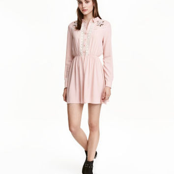 H&M Embroidered Dress $34.99